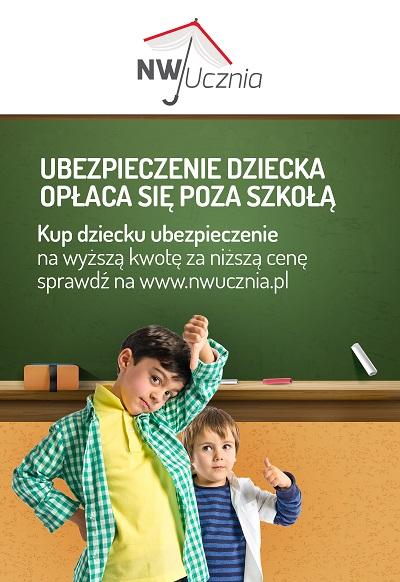Zamiast w szkole ubezpiecz dziecko online