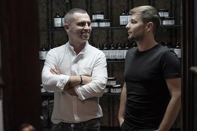 Andrzej Wierzbicki i Tomasz Schmidt stworzyli profesjonalną linię kosmetyków do włosów