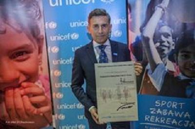 Robert Korzeniowski nowym Ambasadorem Dobrej Woli UNICEF