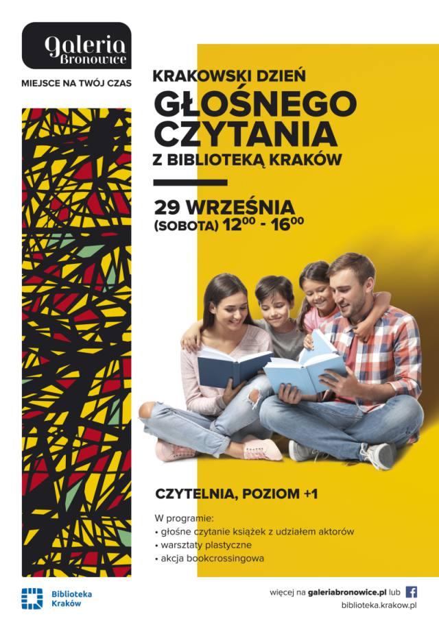 Krakowski Dzień Głośnego Czytania w Galerii Bronowice