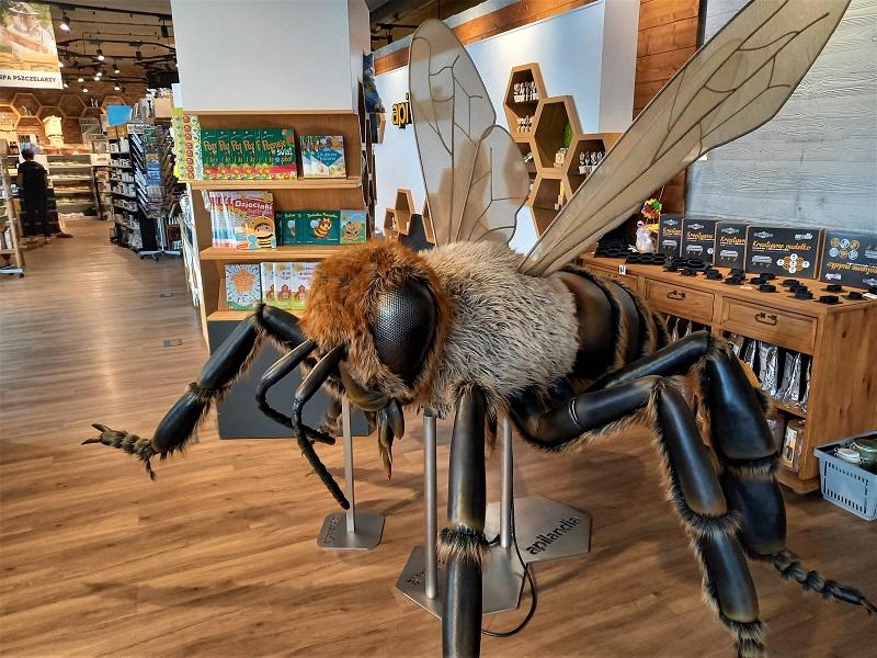 Interaktywne Centrum Pszczelarstwa Apilandia z dziećmi