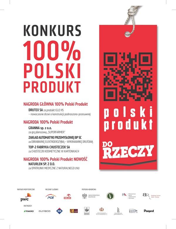 Drzwi z Drutexu z nagrodą główną plebiscytu 100% Polski Produkt
