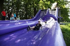 Mobilny Water Slide odwiedzi Kołobrzeg już 13 - 14 sierpnia