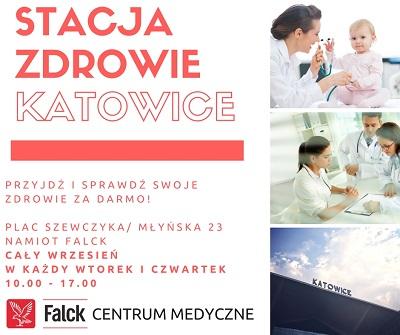 Falck za darmo przebada półtora tysiąca mieszkańców Katowic