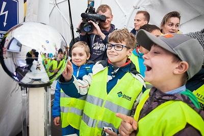 """Z """"Planetą Energii"""" najmłodsi odkrywają tajniki wiedzy o prądzie i bezpieczeństwie"""