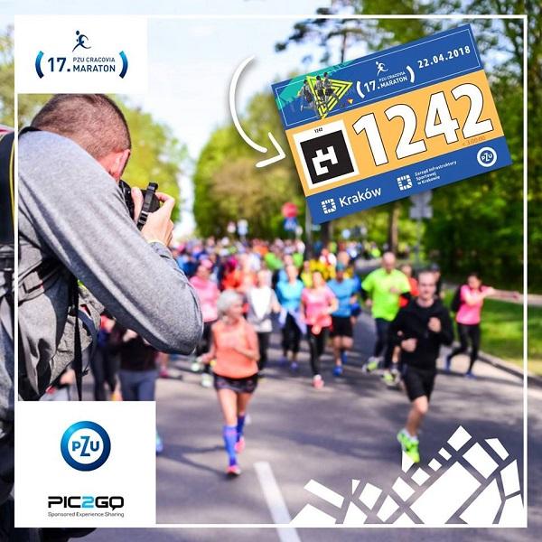 Zdjęcia biegaczy 17. PZU Cracovia Maraton biją rekordy popularności