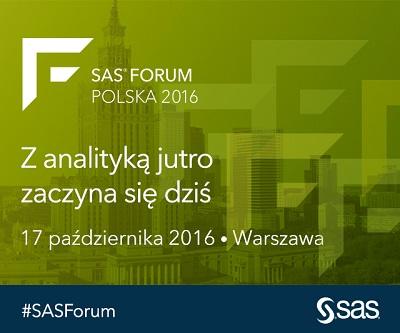 Rusza rejestracja na SAS Forum 2016