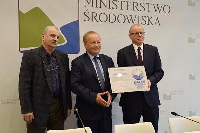 Grupa Energa z prestiżowym certyfikatem EMAS powitana w rejestrze Komisji Europejskiej