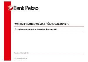 Wzrost działalności kredytowej i dochodów