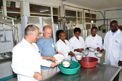 SGGW: Sukces z natury. Polskie sery w Tanzanii
