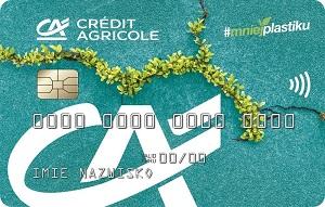 Credit Agricole wprowadza pierwszą na rynku kartę płatniczą z ekotworzywa