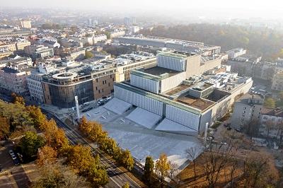 """Płyty zbrojone Ytong """"opakowują"""" ikonę architektury Lublina – Centrum Spotkania Kultur"""