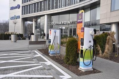 Energa uruchomiła w Trójmieście szósty terminal ładowania aut elektrycznych