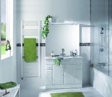 Grzejnik łazienkowy - prosty wygląd i przydatne funkcje
