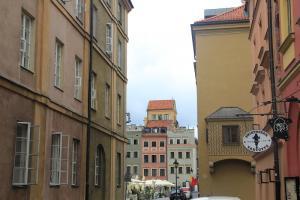 Spacer po Warszawie z dziećmi