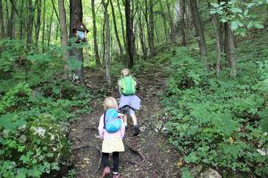 Ojców z dziećmi - pomysł na widokowy spacer