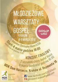 """Młodzieżowe Warsztaty Gospel - """"Dom Harcerza"""" w Krakowie"""
