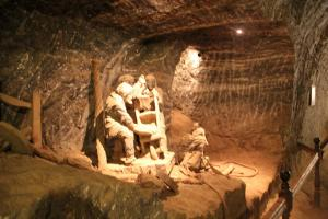 Kopalnia Soli w Bochni z dzieckiem.