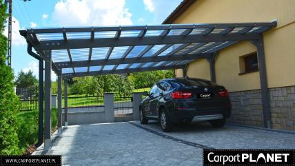 Wiata garażowa zadaszenie na samochód Carport
